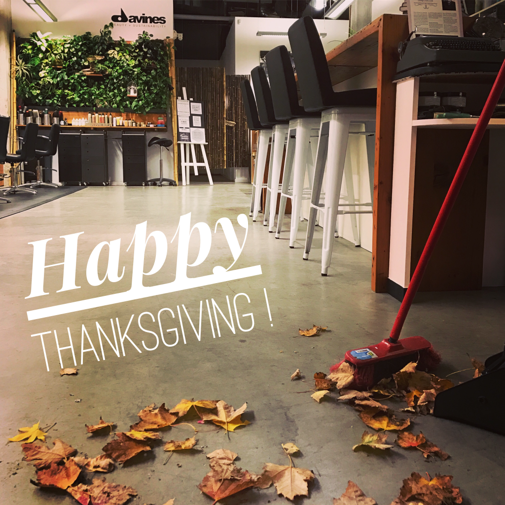 5 Things A Salon Owner and Hairstylist Can Be Thankful For.